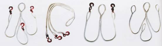 首页 产品展示 吊装带吊装绳系列  尼龙吊装绳 系纯手工编制而成.
